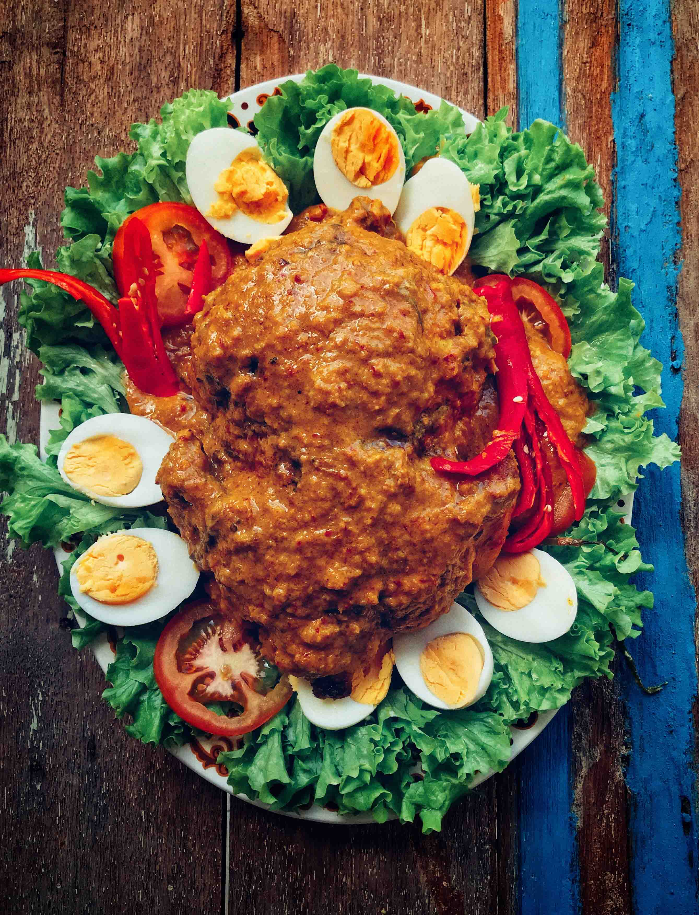 Hikayat Ayam Bulat – Lauk Wajib Untuk Pengantin