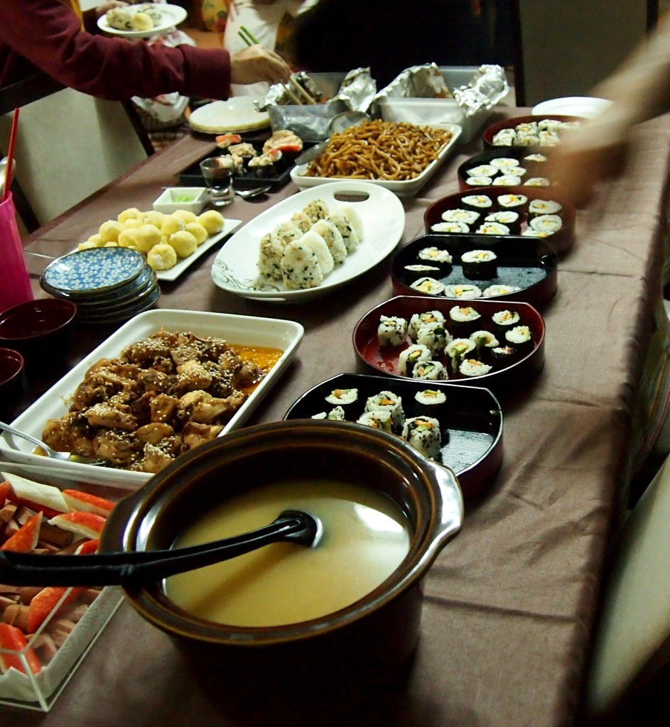 Our Very Own Sushi Party