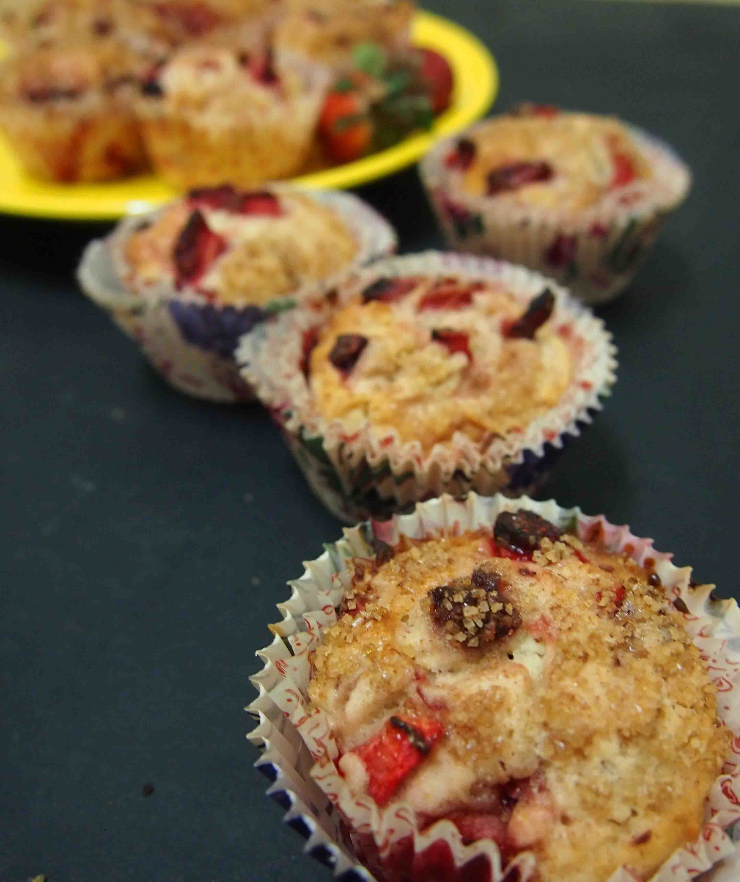 Aroma Butter – Strawberry Crumbled Muffin