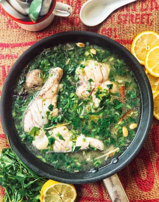 Juadah Sihat – Sup Ikan