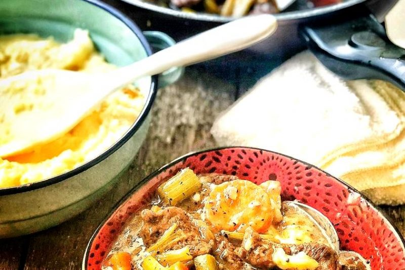 Western Take – Beef Stew