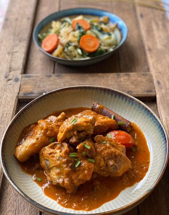 Lauk Pauk – Kari Ayam Kering (Dry Chicken Curry)