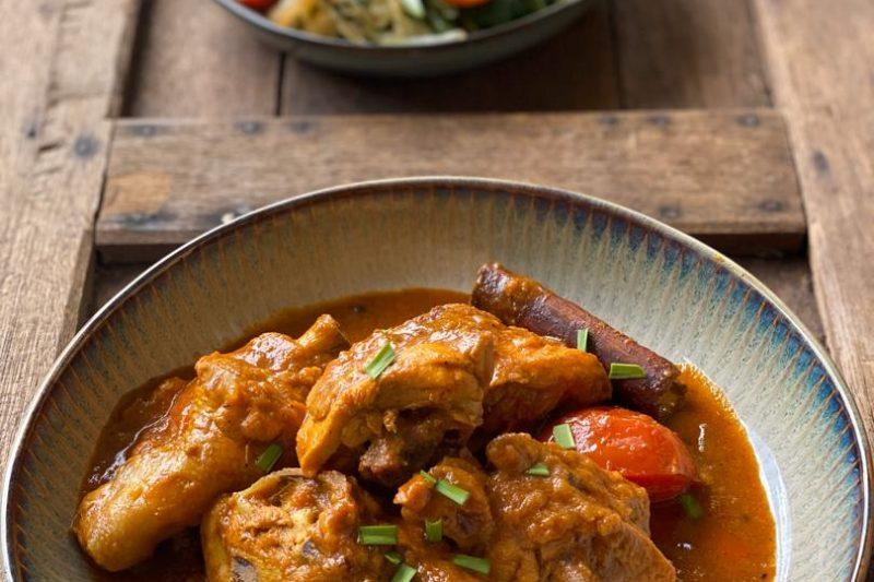 Lauk Pauk – Kari Ayam Kering (Dry Chicken Curry)