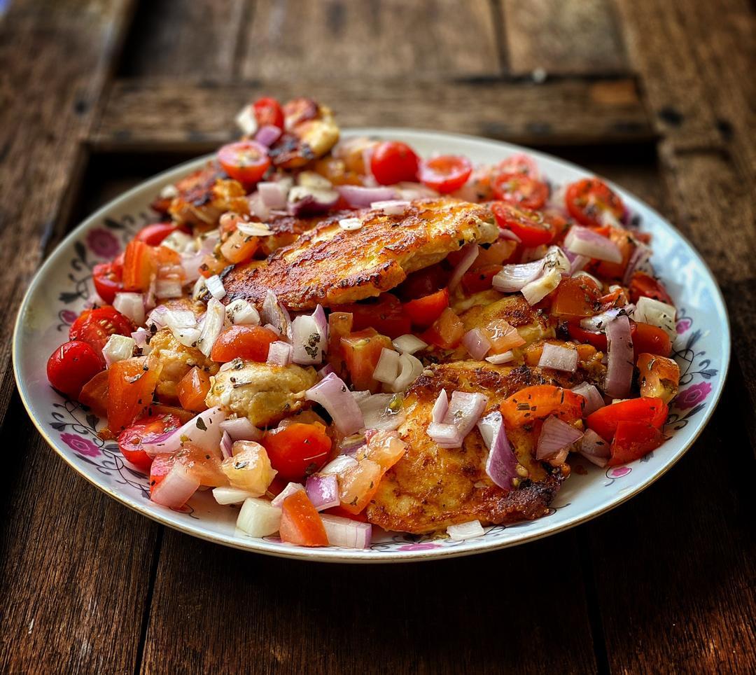 Ayam Bruschetta