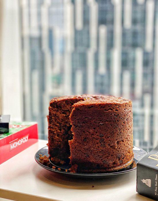 Kek Buah Rebus/Boiled Fruit Cake