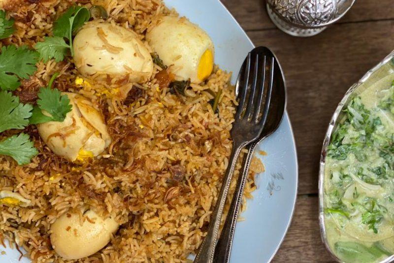 Nasi Biryani Telur