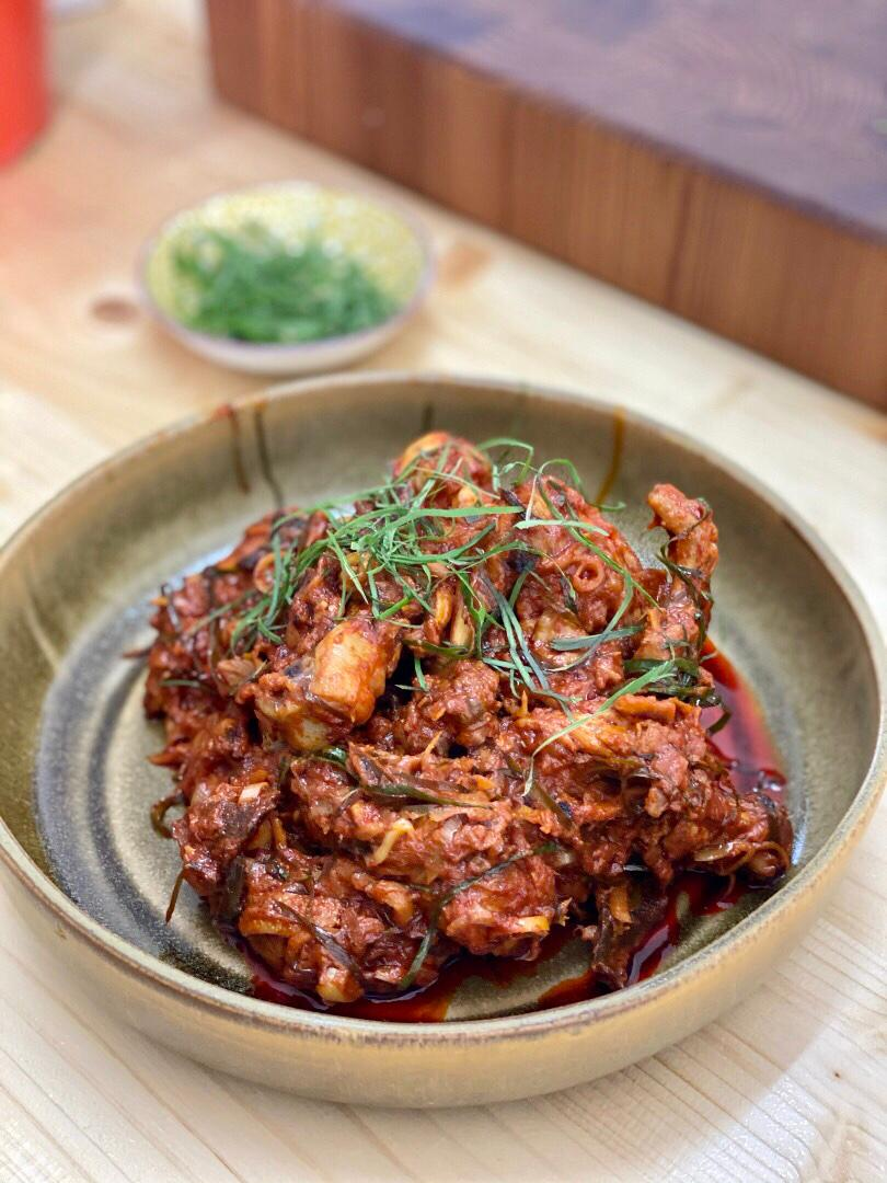 Rendang Pedas Ayam Perak