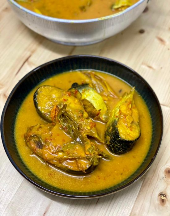 Gulai Tempoyak Ikan Patin Pahang