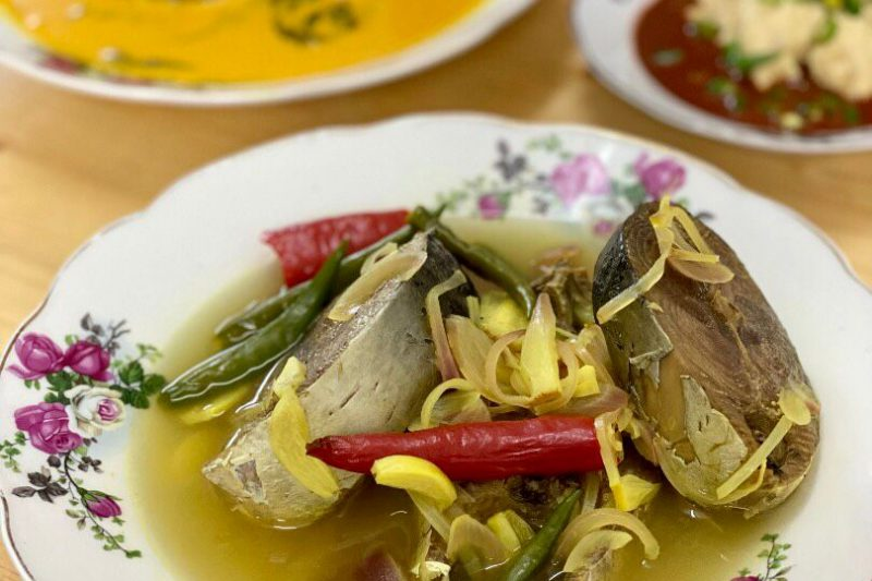 Singgang Ikan Tongkol Terengganu